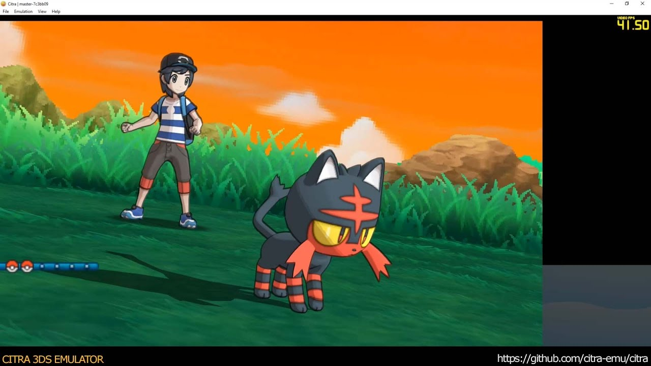 nintendo 3ds emulator pokemon sun