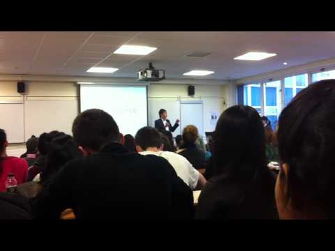 Speech for Airline and Airport Management students in University of West London