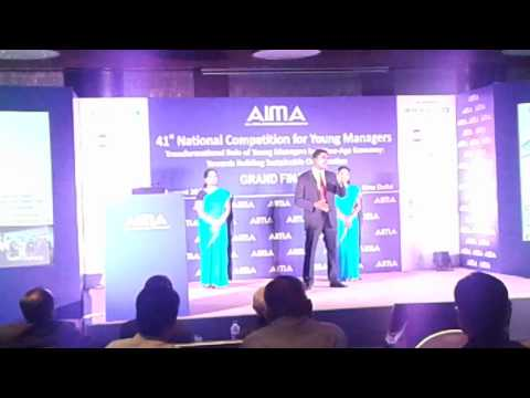 AIMA NCYM 2015 Grand Finale - Team Alstom (The SPARKLERS)