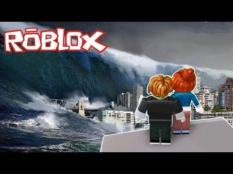 Roblox เธอกับฉัน รอดตายจากภัยพิบัติ พากย์โดยพี่อู๊ด HD