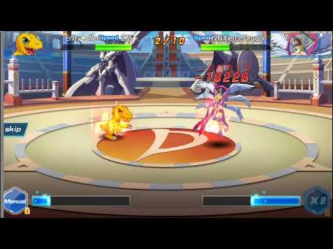 Fierce Dragon- Digital World Digimon AngeWomon X WarGreymon