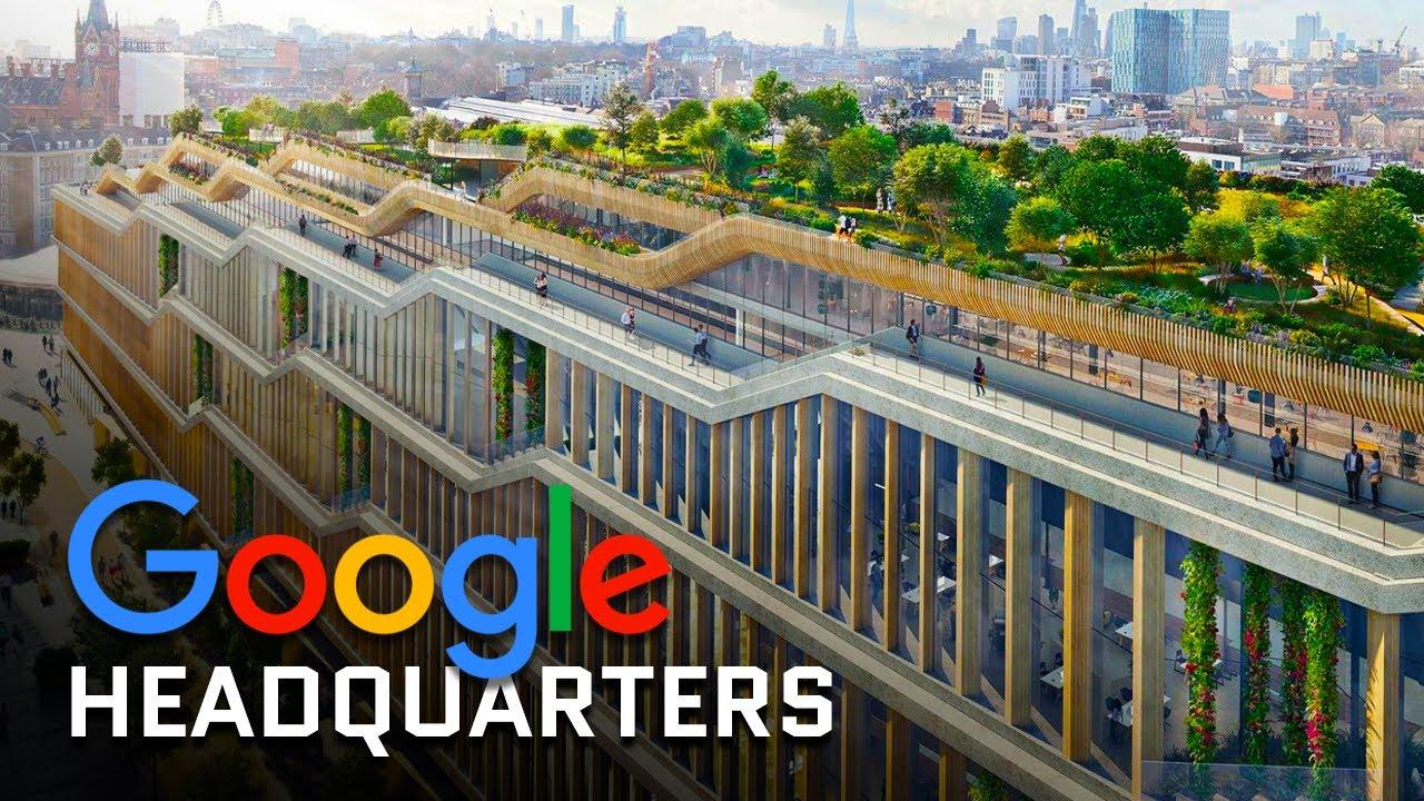 Google's New  Billion UK Headquarters