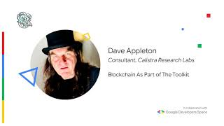 Blockchain As Part of The Toolkit - Dave Appleton