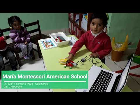 Lego Robótica María Montessori American School