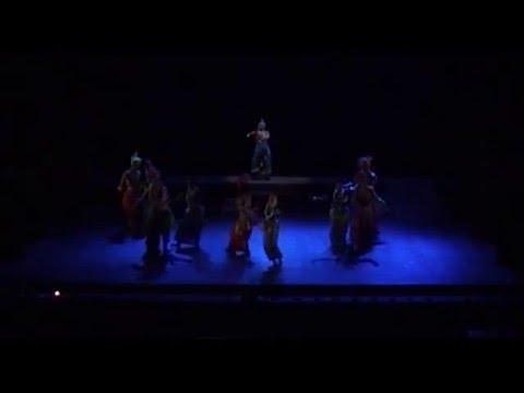 AAVAS (dance drama) A new production of Lianda Folk & Classical Academy 2014 - 2015