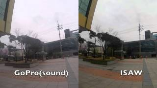 Gopro4 Silver VS ISAW EDGE Sharpness Comparison
