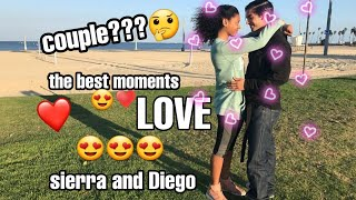 Sierra capri and Diego tinoco 😍♥️|monse and cesar|