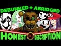 Every MatPat Game Theory of the Last Year - Honest Descriptions (Pokemon, Bendy, Mario, FNAF etc.)