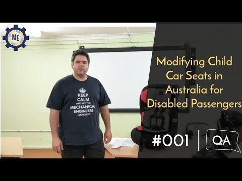 Q&A #001 - Modifying Child Car Seats in Australia for Disabled Passengers
