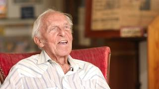 WWII Veteran Richard Lockhart shares his story of survival as a POW