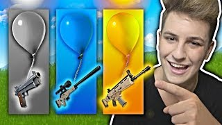 LOSOWY BALON FORTNITE CHALLENGE