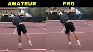 top tennis shots
