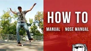 Відео школа скейтбординга - Manual, Nose Manual [8 серія]