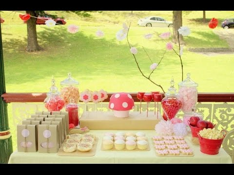 Garden Party Decorations I Buffet Ideas