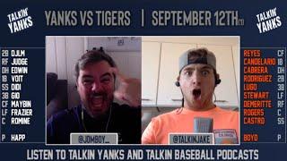Yanks vs Tigers | Sept 12 (1) | Pre-Game Show