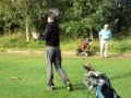 Lenzie Afternoon Circus - Circus Outing - John Sommerville on the 7th Tee