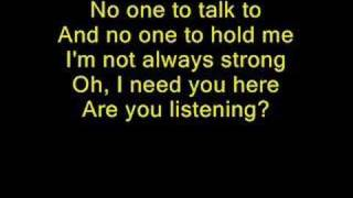 Kelly Clarkson - Hear Me (Sing along)
