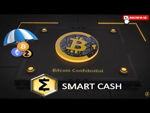 Bitcoin Confidential como resgatar / Airdrop / SmartCash