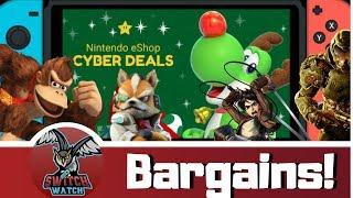 Nintendo Switch Cyber eShop BARGAINS! Mega Black Friday Sale!