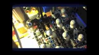 Lego technic bowling pinsetter!