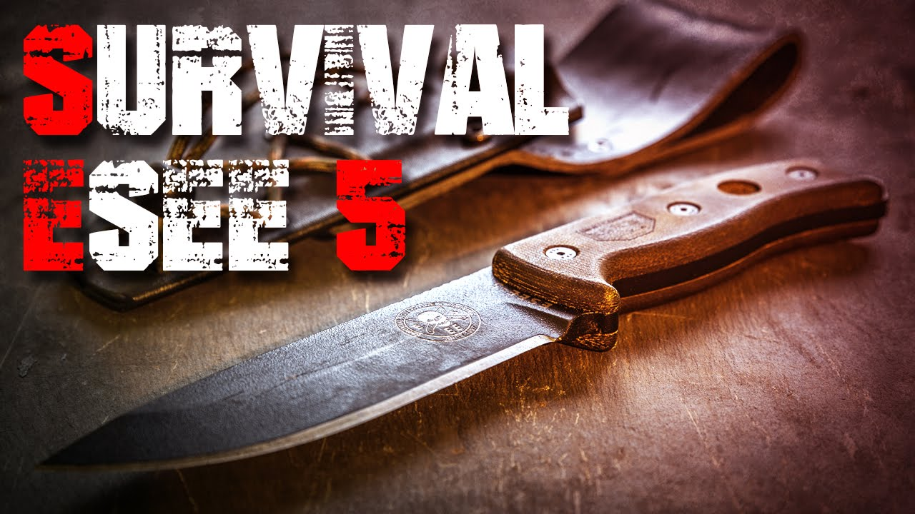 Esee 5 Survival Bushcraft Messer Review Test Outdoortest Edc