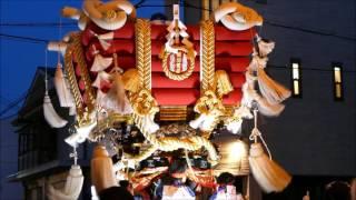 高崎神社(住之江・南加賀屋)宵宮 布団太鼓 2016.07.23(土)