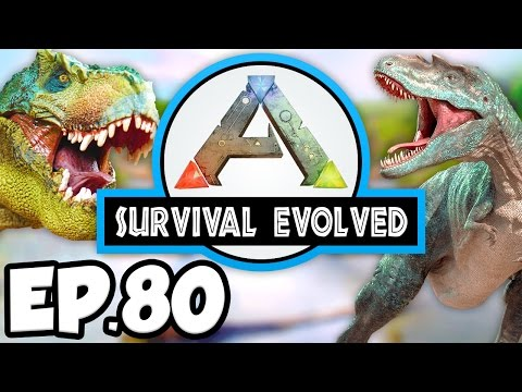 ARK: Survival Evolved Ep 80 - DIRE BEARS & DUNKLEOSTEUS TAME