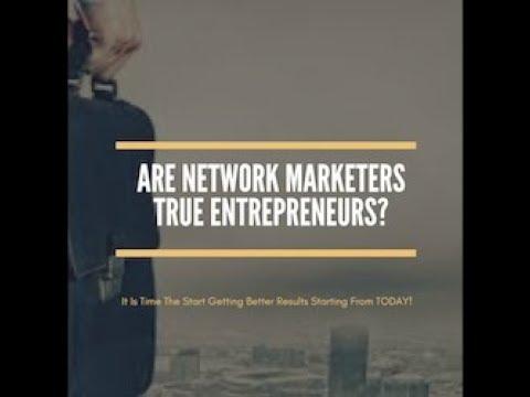 Are Network Marketers True Entrepreneurs