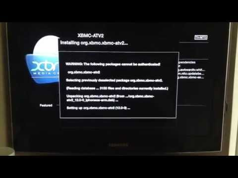 Xbmc Frodo not working ATV2