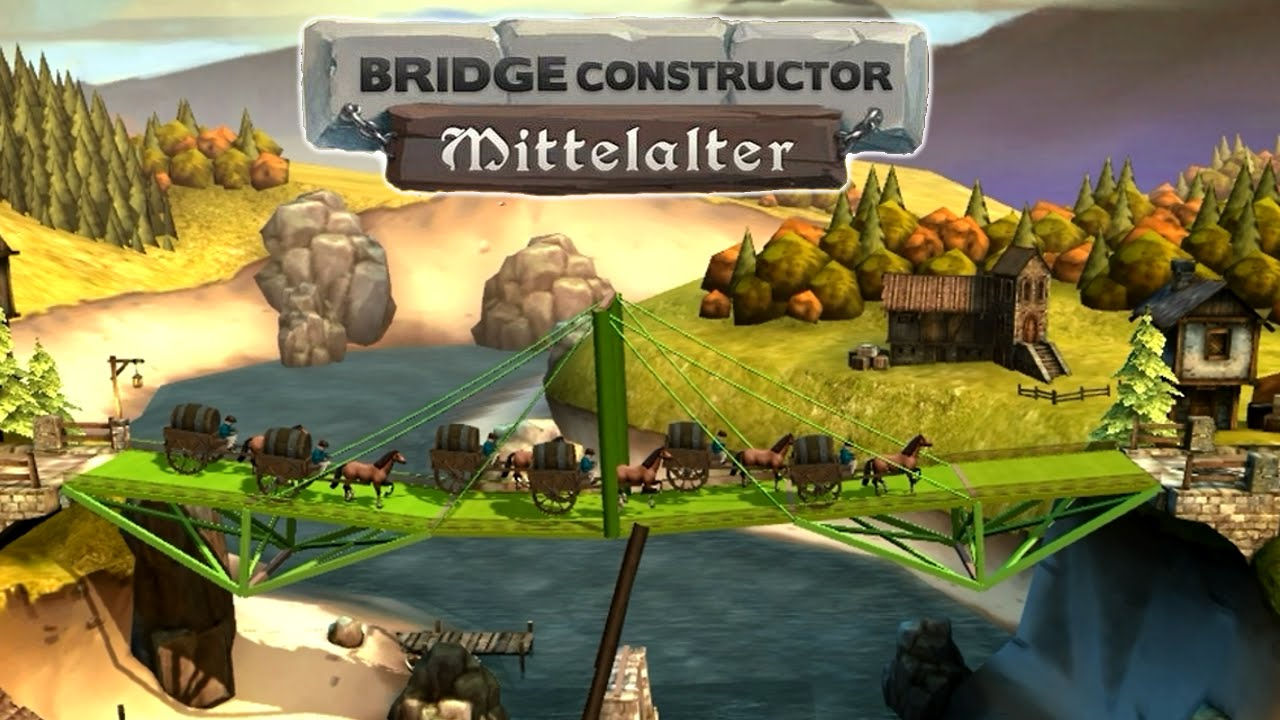 bridge constructor 2 statik was ist statik hd youtube. Black Bedroom Furniture Sets. Home Design Ideas