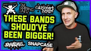 BANDS THAT SHOULD'VE BEEN BIGGER: Darkest Hour, Man Overboard, Snapcase, The Starting Line