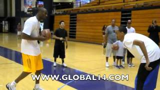 Repeat youtube video Bow Wow vs. Kobe Bryant, 1-on-1 | $1000 on the line | Part 1