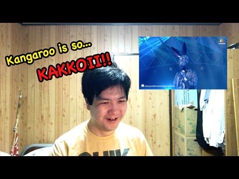 JAPANESE REACTION   Versace on The Floor   Kangaroo masked  The Mask Singer Thailand
