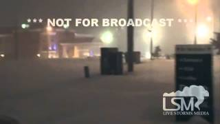 1-5-14 Ponca City OK Heavy Snow *Corey Inmon HD*