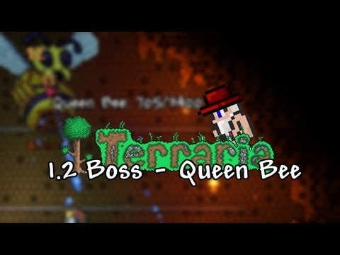 Terraria 1.2 - Queen Bee kill & how to summon - Tutorial - Terraria WIKI - ChippyGaming