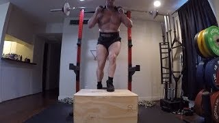 Step Ups For Lower Quad Hypertrophy & Metabolic Conditioning!