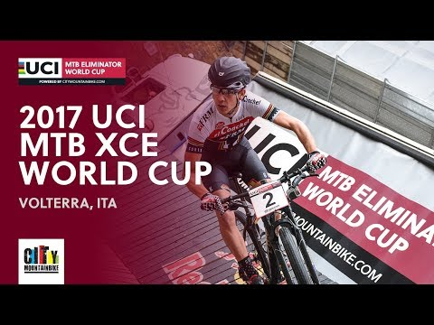 2017 UCI Mountain bike Eliminator World Cup - Volterra (ITA) full report