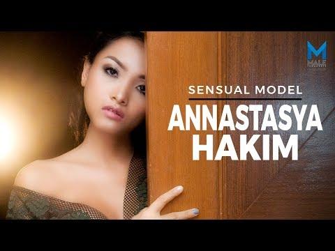 Menggemaskan! Model Eksotis ANNASTASYA HAKIM  - Male Indonesia   Model Hot Indo