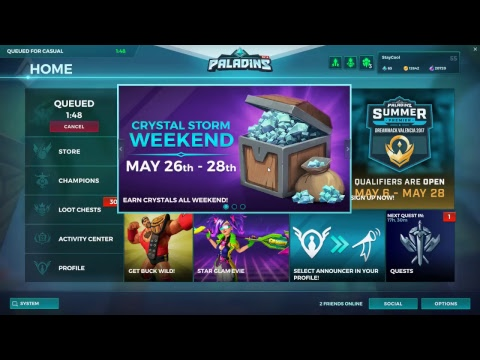 Playing Paladins|StayCoolROAD TO LVL 75|Skye ROAD to LVL 20|Part 2