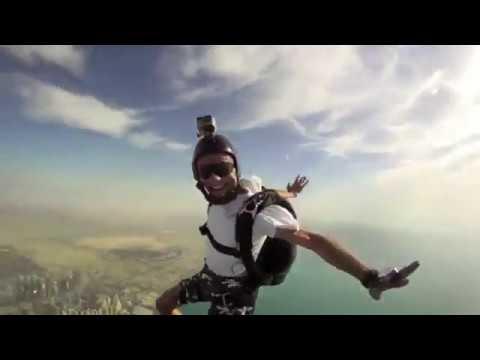 Skydive 2011 Dubai  skoki spadochronowe