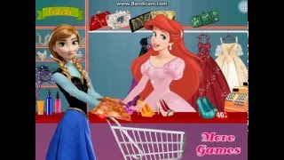 Мультик игра Принцессы Диснея: Модный магазин Ариэль (Ariel Fashion Store)