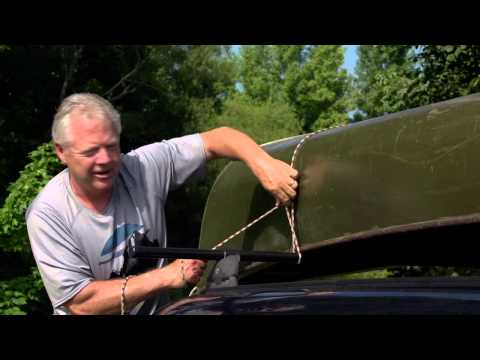 How to Tie Down Your Canoe