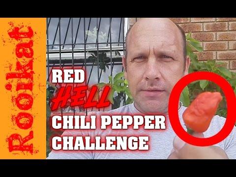 VLOG S2E1 Red hot chili pepper eating challenge 20170106 ...