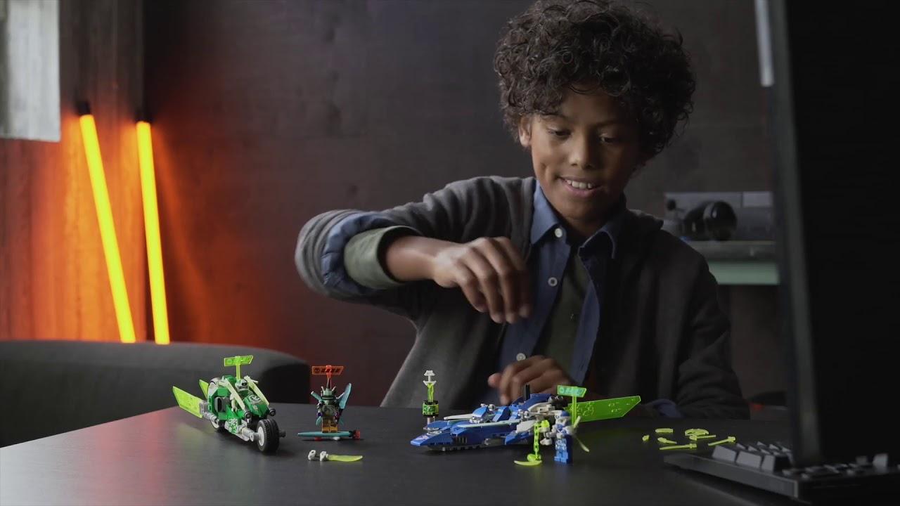 Download LEGO Ninjago 71709 - I bolidi di velocità di Jay e Lloyd 2