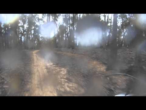 Mathina Loop, Tasmania. Gasgas EC300, Honda XR500.MP4