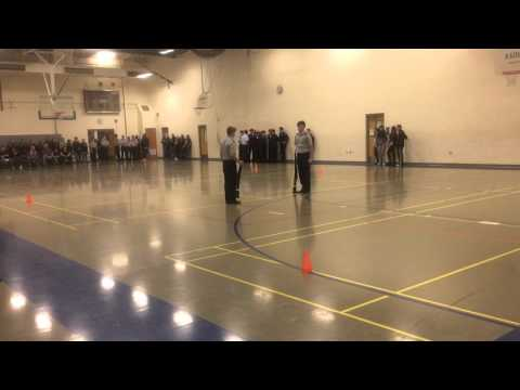 AFJROTC Colorado State 1st Place Two Man Exhibition FFCHS
