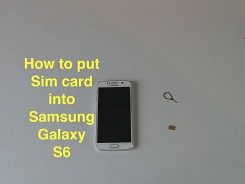 How To Put Sim Card In Samsung Galaxy S6  Youtube. Kitchens With Pantry Design. Kitchen Design In Small House. Latest Design For Kitchen. New York Loft Kitchen Design. Kitchen Cabinet Design App. Kitchen Design Trends 2015. Ikea Kitchen Design Ideas 2012. Youtube Kitchen Design