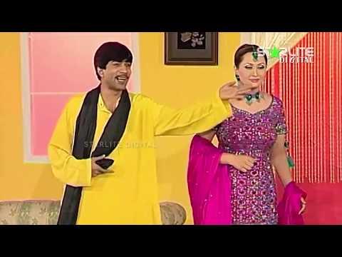 Sajan Abbas and Nargis New Pakistani Stage Drama Full Comedy Clip
