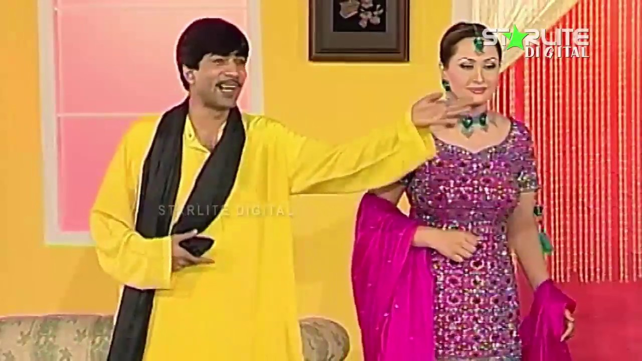 Sajan Abbas and Nargis | New Pakistani Stage Drama Full Comedy Clip | Pk Mast