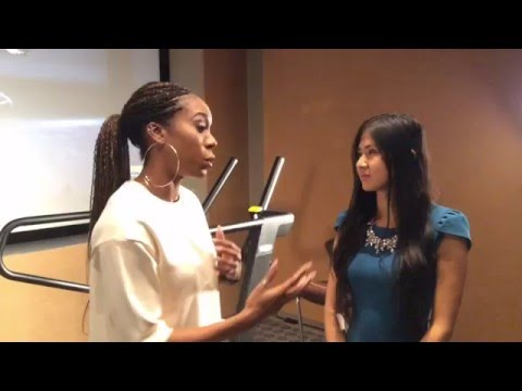 Sanya Richards Ross Interview - Rio 2016 Olympics